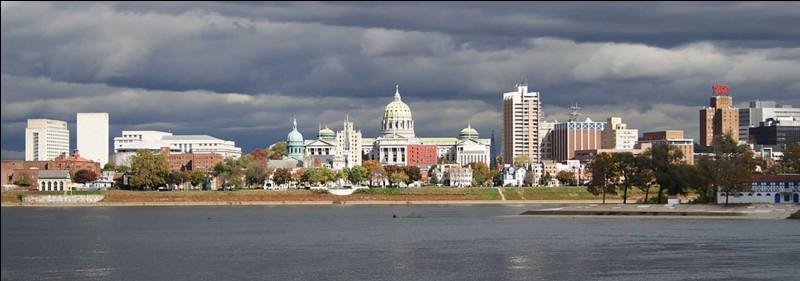 Quelle ville donne son nom à la capitale de la Pennsylvanie ?