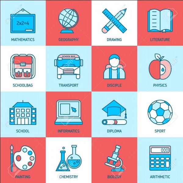 Quelle est ta matière scolaire préférée ?