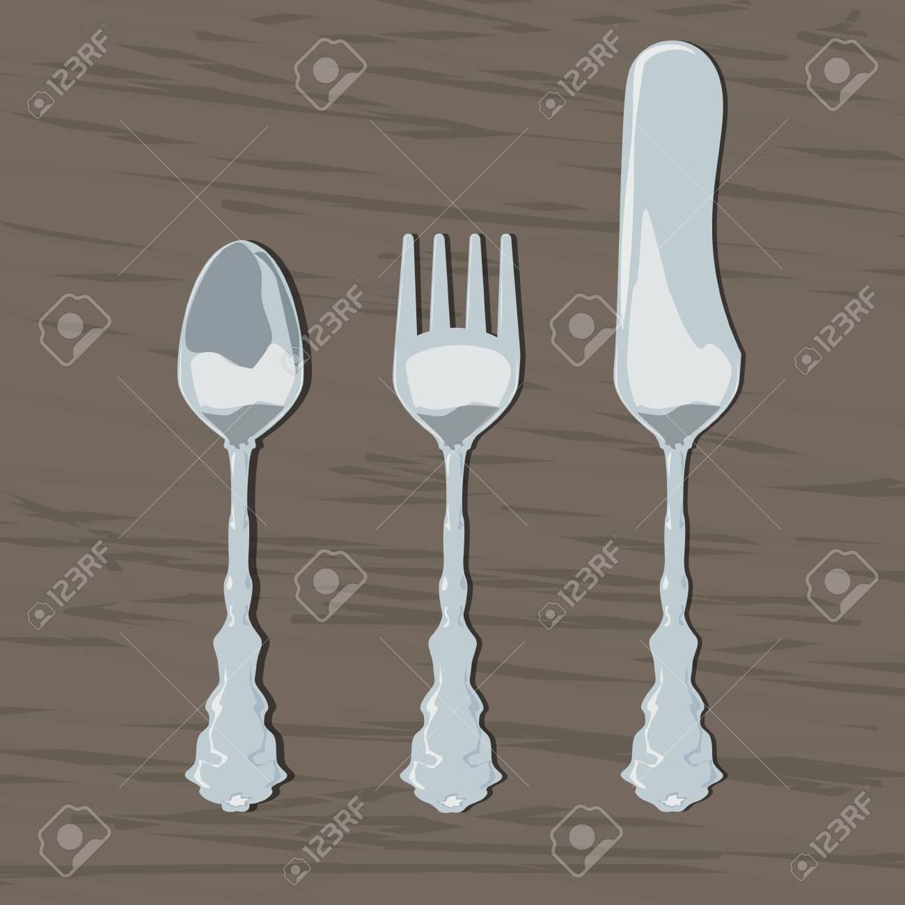 Cuillère, fourchette, couteau ?