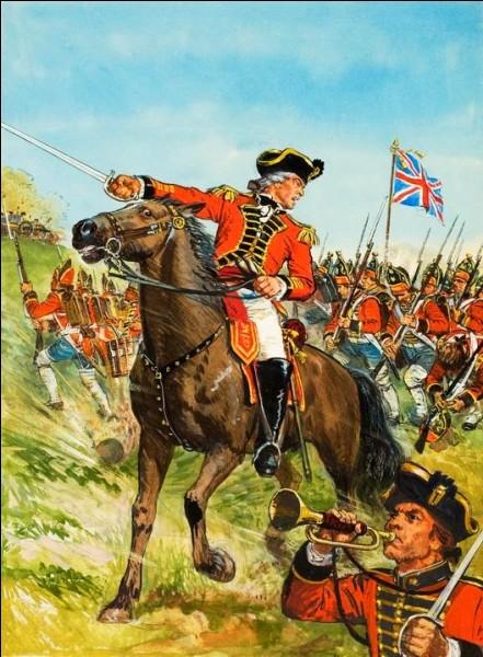 William Howe commandait déjà l'infanterie sous le général Wolfe à la bataille de Québec de 1759. Il escalada la falaise pour prendre position sur les plaines d'Abraham !Nommé général, il fut victoirieux à New York et en Pennsylvanie, mais n'était pas présent pour aider Burgoyne à Saratoga.Cette erreur provoqua l'entrée de la France dans le conflit et éventuellement la perte des États-Unis...