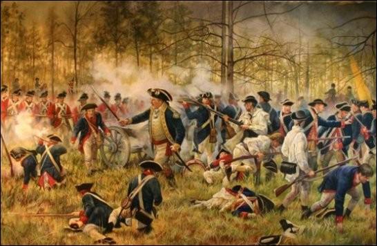 Même en tant que défaite, la bataille de Camden, en août 1780, priva les Britanniques de l'accès à toute la Caroline, ne leur laissant que Charleston à prendre en siège...