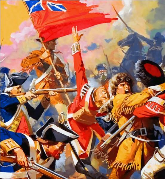 La bataille de Saratoga redonna l'initiative aux Américains. L'armée du général anglais Burgoyne traversa l'Hudson et installa son camp près de Saratoga.Le campement du général américain Gates se trouvait à 6 kilomètres de là, comptait le double d'hommes et recevait des renforts.Après 2 batailles, Burgoyne voulut battre en retraite, mais il fut encerclé...