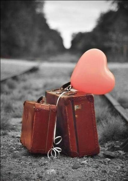 Que lui dire de gentil lors de son départ ? Je t'aime et ton absence va être longue, quand tu seras parti....