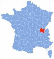 Laquelle de ces villes ne se trouve pas dans le département de l'Ain ?