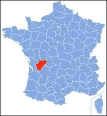 Laquelle de ces villes ne se trouve pas dans le département de la Charente ?