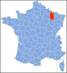 Laquelle de ces villes ne se trouve pas dans le département de la Meuse ?