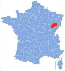 Laquelle de ces villes ne se trouve pas dans le département de la Haute-Saône ?