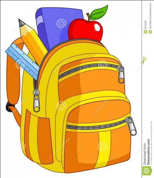 Coche le bon homophone. Je --------- la pomme dans mon sac.