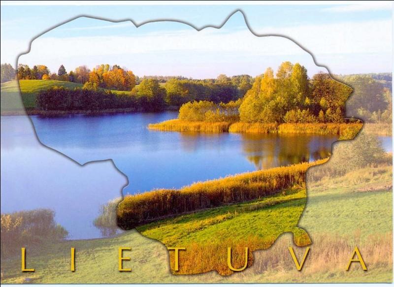 Rendons-nous maintenant en « Lietuva ». Quel est ce pays ?