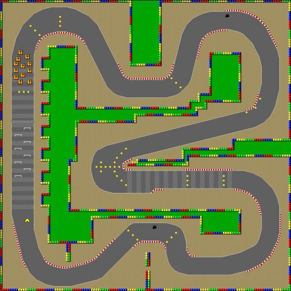 Partie 2 : associer une mini-map à un circuit.Quel est ce circuit ?