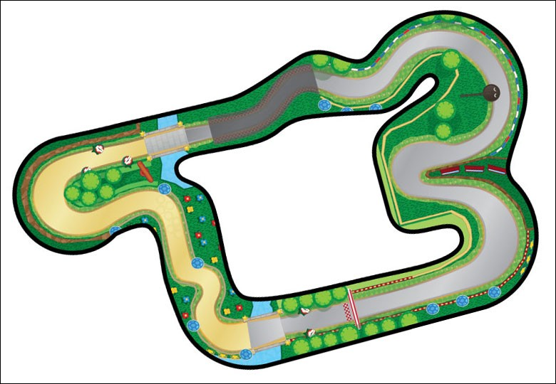"Chaque ""Mario Kart"" a son nouveau ""Circuit Mario"" !Dans quel ""Mario Kart"" ce ""Circuit Mario"" a-t-il fait sa première apparition ?"