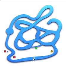 Voici une carte plus difficile à reconnaître maintenant car les décors ne sont plus là ! Quel est ce circuit qui ressemble à un labyrinthe ?