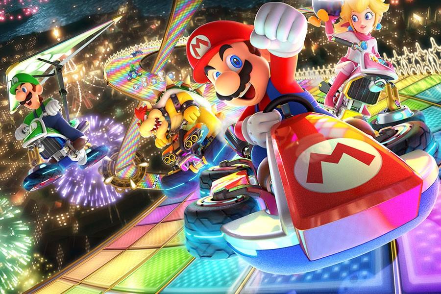 Les circuits de 'Mario Kart'