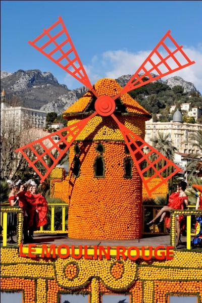 La fête du citron se déroule dans cette ville entre les trois derniers week-ends de février.