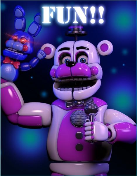 Comment s'appelle la marionnette de Funtime Freddy ?