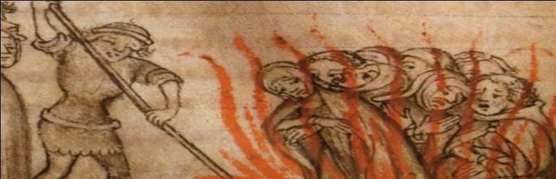 De quelle femme de lettres brûlée en place de grève, en 1310, est cette profonde réflexion : « Ces gens que je traite d'ânes, ils cherchent Dieu dans les créatures, dans les monastères par les prières, dans les paradis créés, les paroles humaines et les Écritures » ?