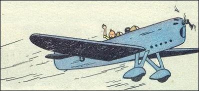 Tintin part à la poursuite des faux-monnayeurs dans un Howard DGA 5. Dans quel album est-ce ?