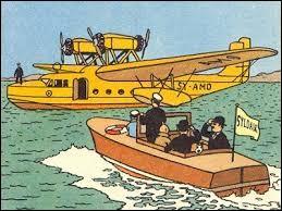 Tintin et les Dupondt quittent la Syldavie à bord d'un hydravion Lioré et Olivier LeO H 242-1. Dans quel album est-ce ?