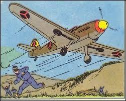 Dans quel album Tintin s'évade-t-il de Bordurie dans un Messerschmitt 109D de l'armée de l'air bordure ?