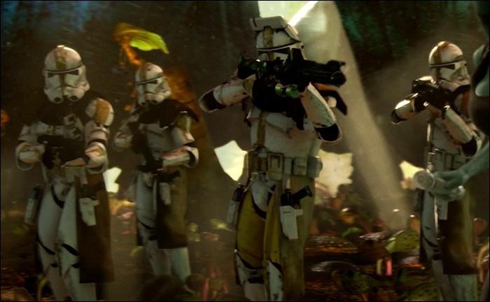 Quelle Maître Jedi à la peau bleue fut exécutée sur la planète Felucia par le commandant BLY et ses clones lors de l'Ordre 66 ?