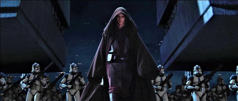 Dark Vador élimina de nombreux Jedi au sein du Temple lors de l'opération Knightfall. De quelle légion de clones fut-il accompagné ?