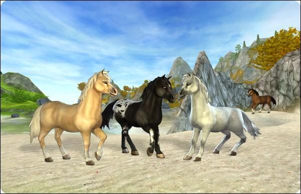 Ce cheval fait partie des plus petits du jeu. C'est le...