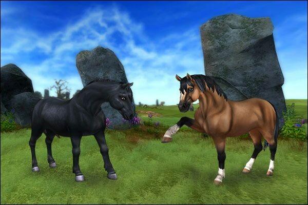 Ce petit cheval vit sauvagement dans les plaines. C'est le...