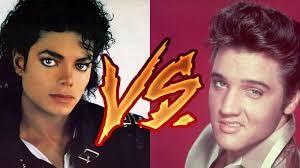 Michael Jackson ou Elvis Presley. - (1)