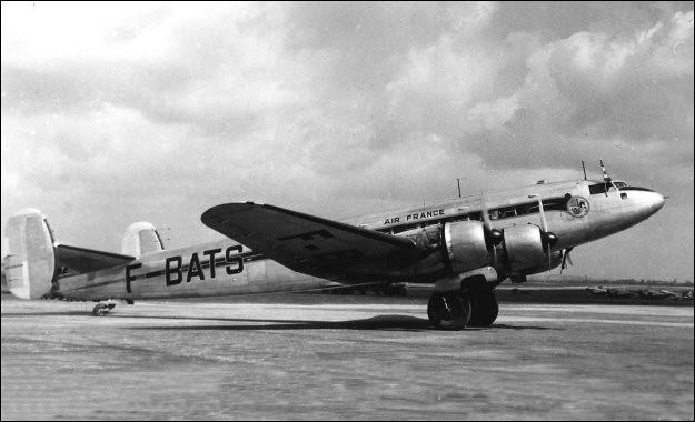Conçu et mis au point avant la seconde guerre mondiale, ce quadrimoteur, qui emportait 33 passagers, a été utilisé par Air France en 1947 avant d'être progressivement remplacé. Quel est cet avion ?