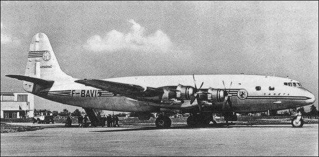 Conçu pour les vols transatlantiques d'Air France, cet appareil français, alors l'un des plus grands avions civils jamais construits, avec une envergure de près de 50 mètres a été mis en service en 1952. Ce fut un échec commercial et 9 exemplaires seulement ont été produits. Quel est cet avion ?