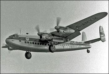 Mis en service en 1944 et utilisé surtout par la compagnie British Overseas Airways Corporation (BOAC), cet appareil a aussi été l'avion avec lequel Churchill s'est rendu à Yalta. Quel est cet appareil ?