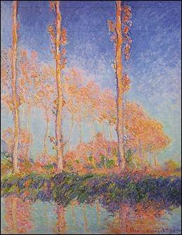 """Qui a peint """"Les Peupliers, trois arbres roses, automne"""" ?"""
