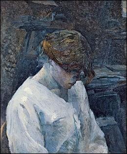 """Qui a peint """"La Rousse au chemisier blanc"""" ?"""