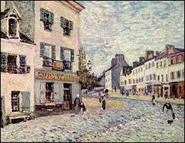 """Qui a peint """"Une rue à Marly"""" ?"""