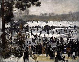 """Qui a peint """"Les Patineurs à Longchamp"""" ?"""