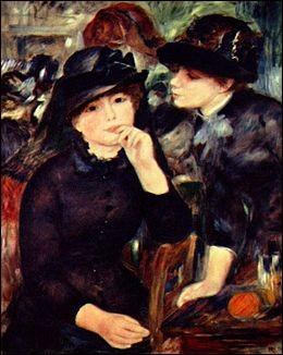 """Qui a peint """"Jeunes filles en noir"""" ?"""