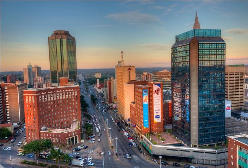 De quel pays Harare est-elle la capitale ?