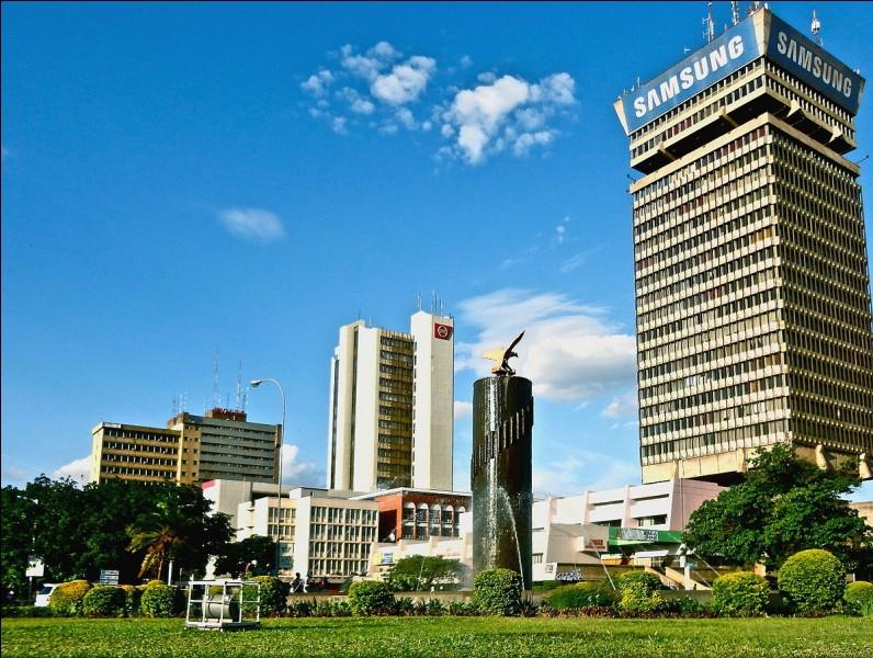Quel pays a pour capitale Lusaka ?
