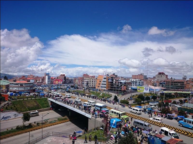 Lequel de ces pays a une ville du nom de El Alto ?