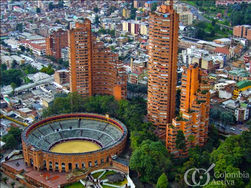 De quel pays Bogota est-elle l'immense capitale ?