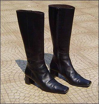 C'est à cause de l'une de ses créations, une certaine chaussure, qu'il a failli ruiner sa boîte, et qu'il s'est fait virer. C'est Orlando Bloom qui interprète ce personnage dans le joli film Bienvenue à Elizabethtown. De quelle chaussure s'agit-il?