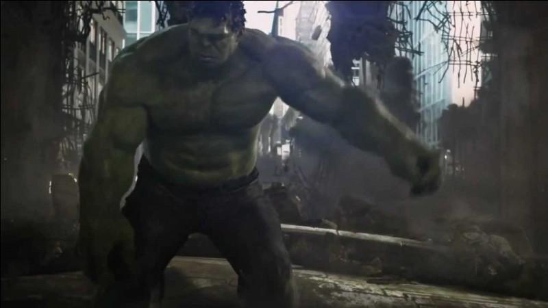 Dernièrement avec quel Avenger Hulk se trouvait-il ?