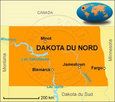 """État du Midwest (voir lien), le Dakota du Nord a adhéré à l'Union le 2 novembre 1889. Devant son nom à la tribu Sioux """"Dakota"""", sa capitale, fondée en 1872, portait au départ le nom d'Edwinton, en hommage à Edwin M. Johnson, ingénieur en chef de la compagnie des chemins de fer Northern Pacific Railway, avant de prendre son nom actuel l'année suivante. Devenue capitale en 1889, quelle est-elle ?"""