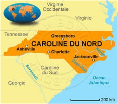 Longeant l'océan Atlantique à l'est, la Caroline du Nord est un État du sud. D'une population de 9 535 483 résidents sur une superficie de 139 509 km², elle est la 10e la plus peuplée et la 28e par sa taille. Colonisée et occupée par les Européens dès le XVIe siècle, elle devint, le 21 novembre 1789, le 12e État d'Amérique. En 1792, quelle ville fut désignée pour devenir sa capitale ?