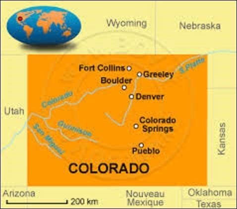 Surnommé ''l'État du centenaire'', car intégré à l'Union le 1er août 1876, 100 ans après la Déclaration d'indépendance des États-Unis, le Colorado est un État de l'Ouest américain. D'une population de 5 029 196 résidents, sa capitale fut fondée en novembre 1858 en tant que ville minière durant la ruée vers l'or. Elle devint officiellement le chef-lieu en 1865. Quel est son nom ?