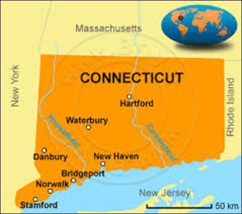 État du Nord-Est des États-Unis, le Connecticut est l'un des États les plus petits d'Amérique, mais l'un des plus densément peuplés avec 3 574 097 habitants. Colonisé par les Hollandais menés par le navigateur Adriaen Block en 1614, elle est, à ce jour, l'un des États les plus riches grâce, notamment, au tourisme. Devenu membre de l'Union le 9 janvier 1788 : quelle ville en est la capitale ?