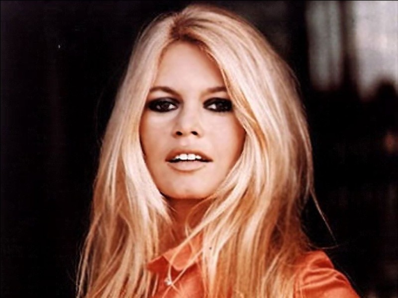Brigitte Bardot chantait...