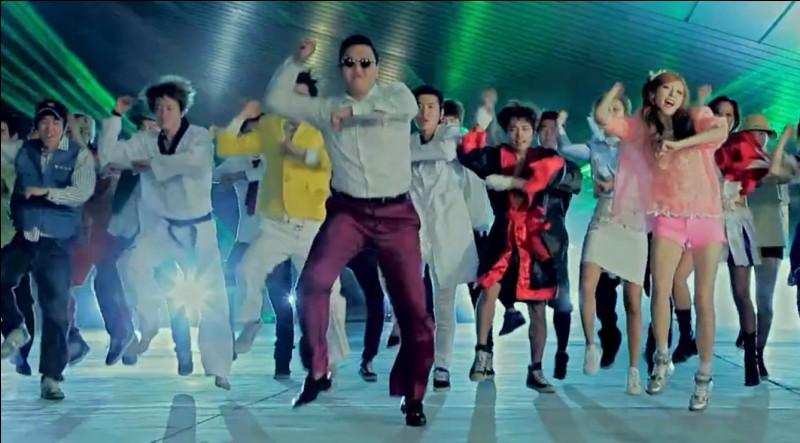 """Qui a chanté """"Gangnam style"""" ?"""