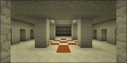 Changeons de décor, place au désert, plus précisément au temple du désert. Quelle terre cuite faut-il casser pour accéder à la salle des coffres ?