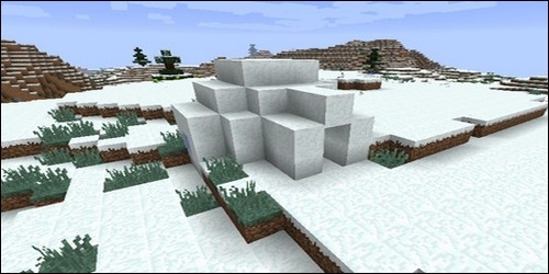 Derniers décor, dans les igloos. Quand on creuse toute la neige au sol, on distingue une trappe. Qu'est qui nous y attends tout en bas ?